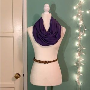 NWT Sholdit Hidden Zipper Pocket Infinity Scarf
